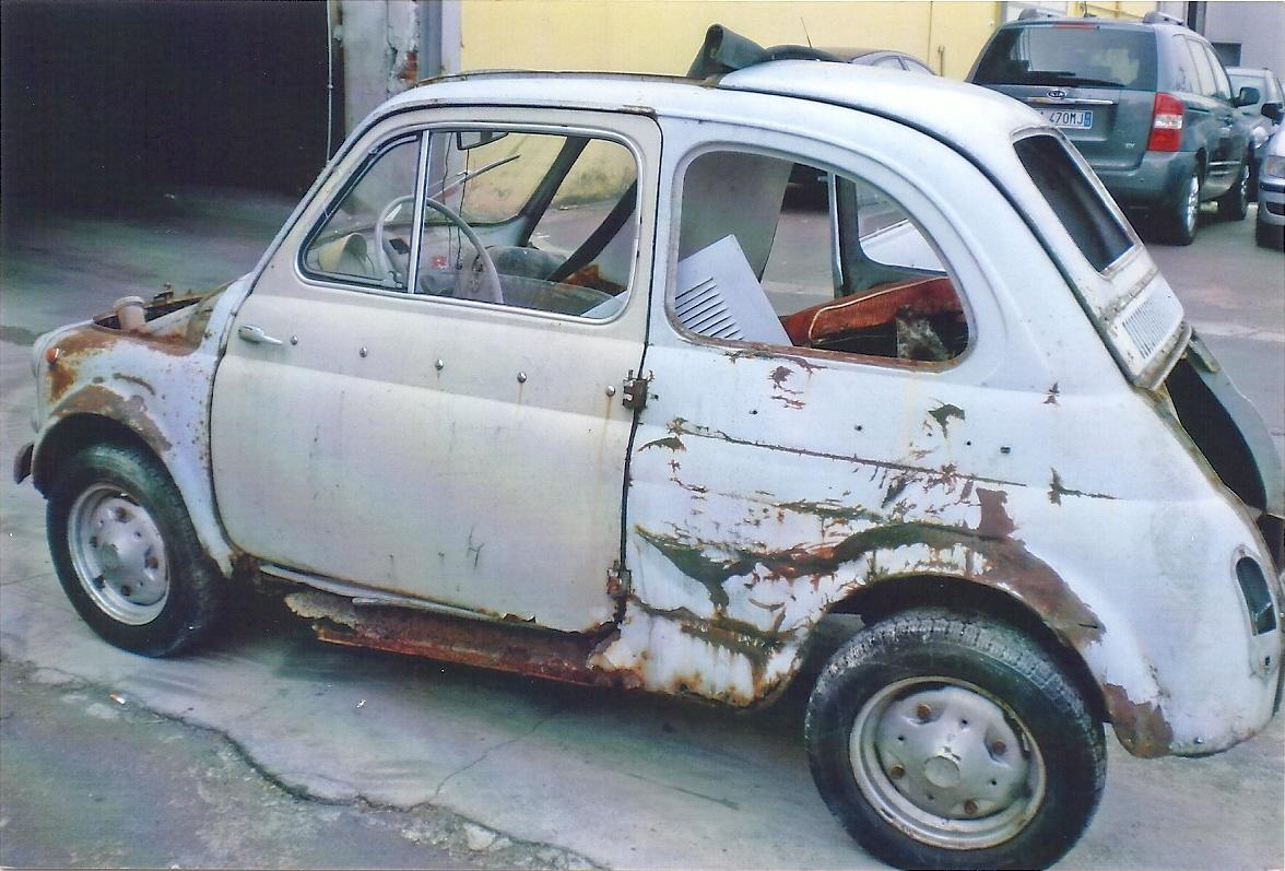 Restorers N 265 Fiat 500 D Fratelli Sofia
